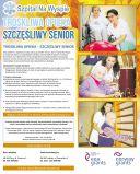 Plakat Troskliwa opieka - Szczęśliwy senior
